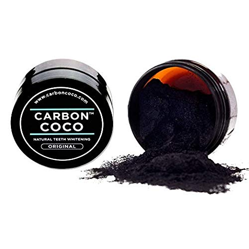 Carbon Coco - Carbon Coco natural teeth whenting ACTIVATED CHARCOAL TOOTH POLISH 40G