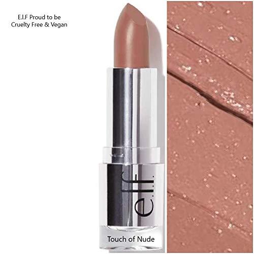 e.l.f - E.L.F Beautifully Bare Satin Lipstick- Touch of Nude