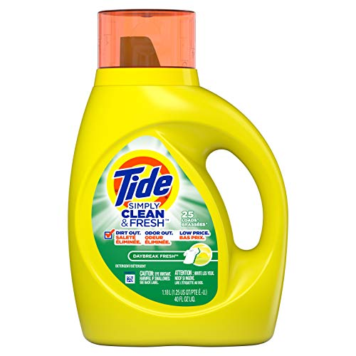 Tide - Tide Simply Clean & Fresh Liquid Laundry Detergent, Daybreak Fresh, 40 Ounce
