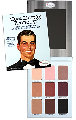 theBalm - The Balm Cosmetics Meet Trimony Matte Eyeshadow Palette