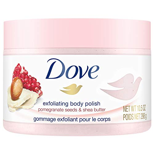 Dove - Exfoliating Body Polish Body Scrub, Pomegranate & Shea