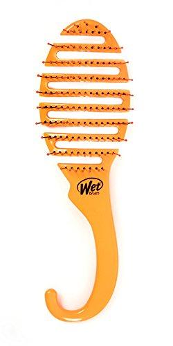 Wet Brush - Wet Brush Shower Flex Hair Brush, Orange, 3.3 Ounce