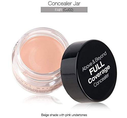 NYX - NYX Above & Beyond Full Coverage Concealer Jar-0.25 oz (Fair-CJ02)