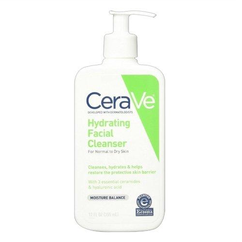 CeraVe - CeraVe Hydrating Facial Cleanser 12 Fl Oz, (Pack of 2)