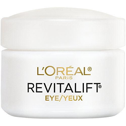 L'Oreal Paris L'Oréal Paris Skincare Revitalift Anti-Wrinkle and Firming Eye Cream Treatment with Pro-Retinol, Fragrance Free, 0.5 oz.