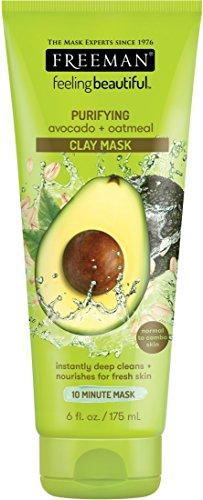 Freeman - Facial Clay Masque Avocado and Oatmeal