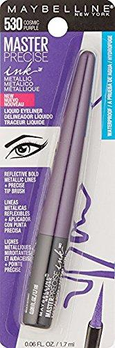 Maybelline New York - Maybelline Master Precise Ink Metallic Liquid Liner, 530 Cosmic Purple (Pack of 2)