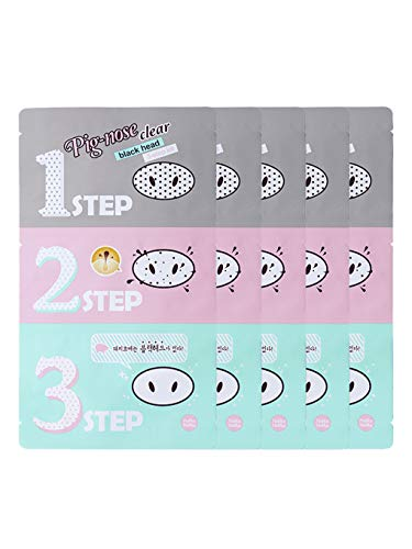 HOLIKA HOLIKA - HOLIKA HOLIKA Pig Nose Clear Black Head 3-Step Kit (5 set)