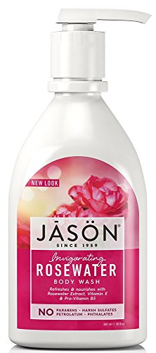Jason - JASON Invigorating Rosewater Body Wash, 30 oz. (Packaging May Vary)