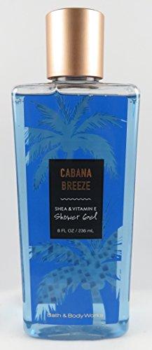 Bath & Body Works - Bath & Body Works Cabana Breeze 8 Ounce Shower Gel Wash