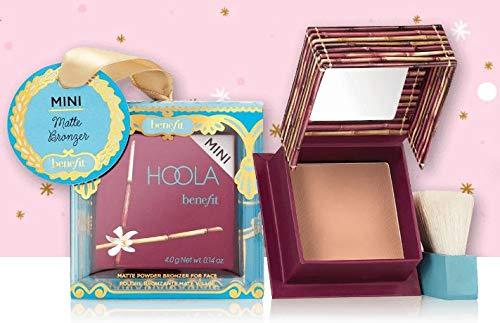 BENEFIT COSMETIC - Benefit Cosmetics Choose Your Own Tree Ornament! Your Choice of Gogotint Cheek Stain, Dandelion Face Powder, Hoola Bronzer or POREfessional! Make Your Tree Extra Merry This Season! (Hoola Bronzer)