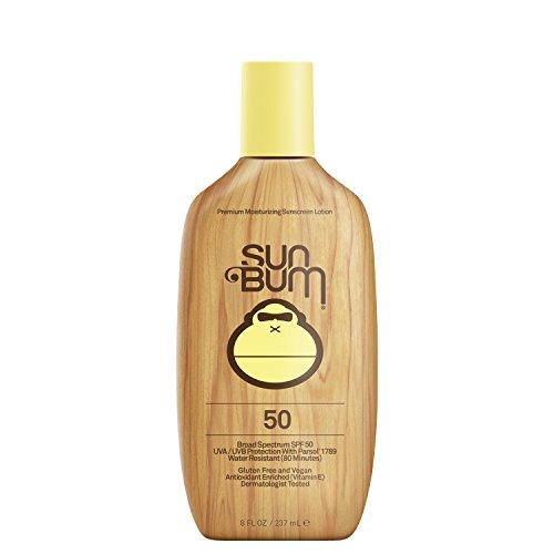 Sun Bum - Sun Bum Original Moisturizing Sunscreen Lotion, SPF 50, 8 oz. Bottle, 1 Count, Broad Spectrum UVA/UVB Protection, Hypoallergenic, Paraben Free, Gluten Free