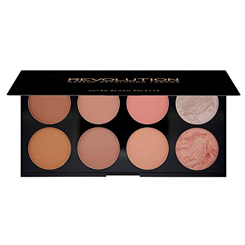 Makeup Revolution - Makeup Revolution Ultra Blush and Contour Palette, Hot Spice