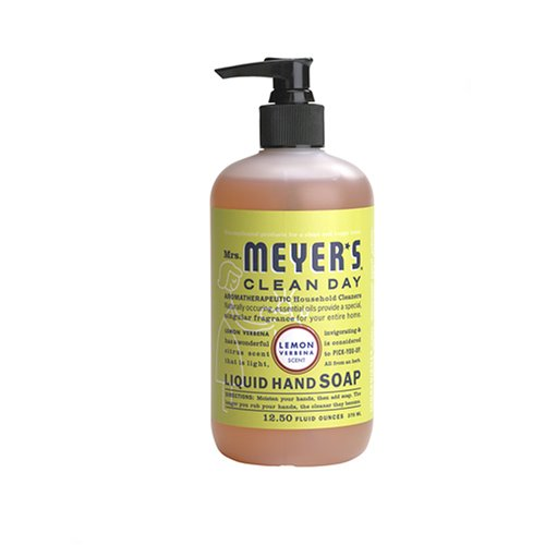 Mrs. Meyers - Mrs. Meyer's Clean Day Liquid Hand Soap, Lemon Verbena, 12.5 Ounce Bottle