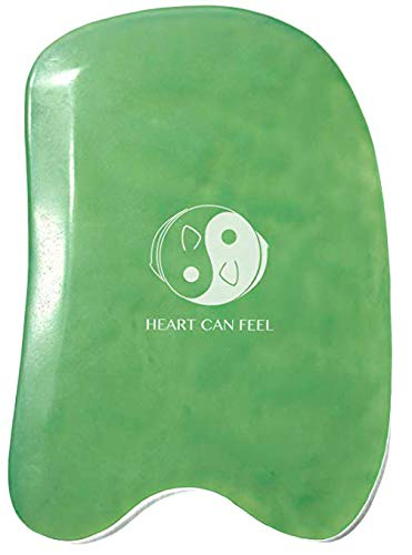 Heart Can Feel - Jade Gua Sha Scraping Massage Tool