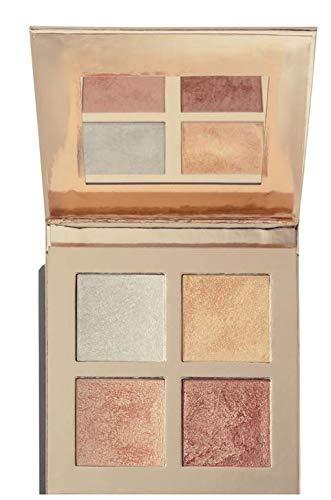 Makeup Revolution - Face Quad Highlighting Palette, Incandescent