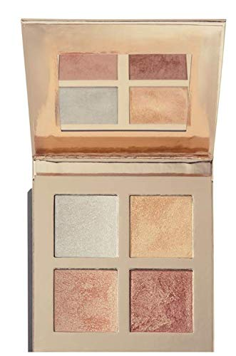 Makeup Revolution - Face Quad Highlighting Palette, Incandescent