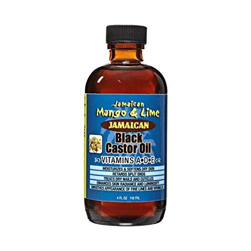 Jamaican Mango & Lime - Jamaican Mango & Lime Vitamins A D & E Black Castor Oil