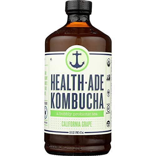 Health Ade - Health Ade, Kombucha California Grape Organic, 16 Fl Oz