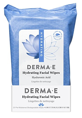 DERMA-E - Hydrating Facial Wipes
