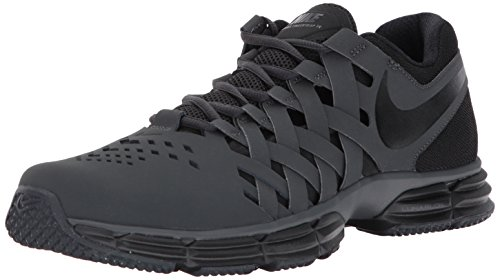 NIKE - NIKE Men's Lunar Fingertrap Cross Trainer, Anthracite/Black, 11.0 Regular US