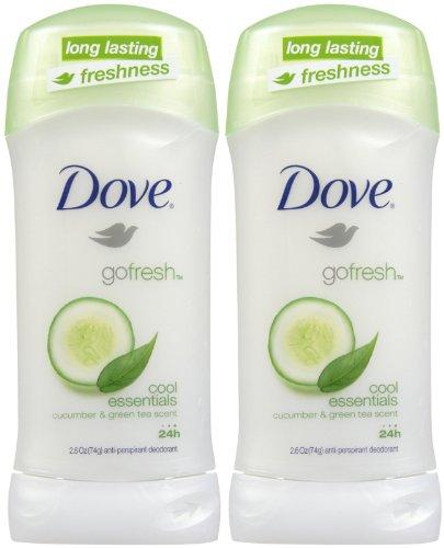 Dove - Dove Go Fresh Antiperspirant, Cool Essentials, 2.6 oz, 2 pk