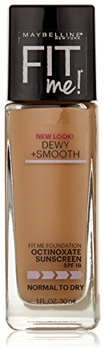 Maybelline New York - Maybelline Fit Me Dewy + Smooth Foundation, Natural Beige, 1 fl. oz. (Packaging May Vary)