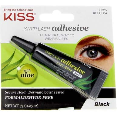 Kiss - Strip Lash Adhesive Black