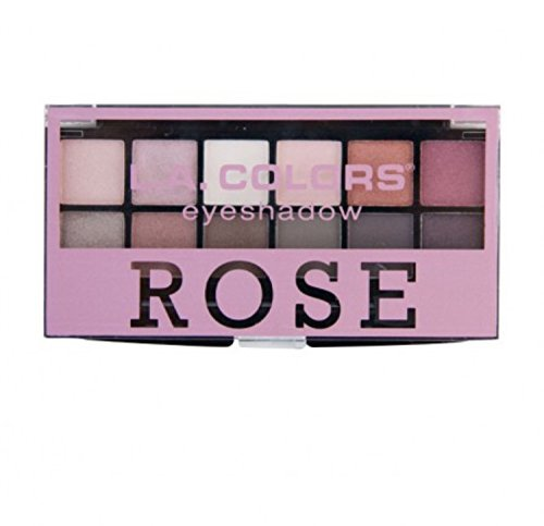 LA Colors - LA Colors 12 Eyeshadow Palette ROSE