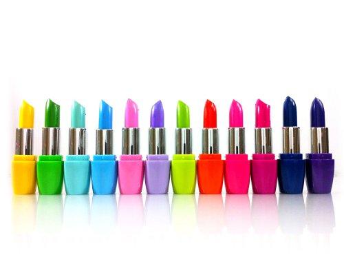 Kleancolor - Kleancolor Femme Lipsticks 12 Colors Assorted Lipsticks with Aloe Vera and Vitamin E