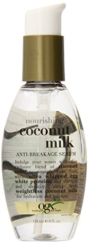 OGX - OGX Anti-Breakage Serum, Nourishing Coconut Milk, 4 Ounce