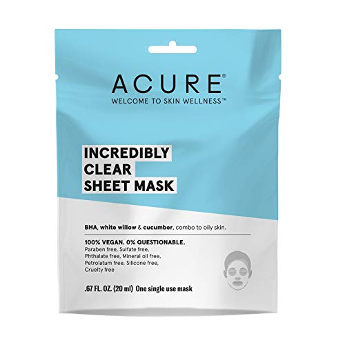 Acure - Incredibly Clear Sheet Mask