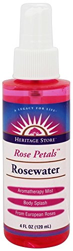 Heritage Products -  Flower Water Atomizer Mist Sprayer Rose Petals Rosewater