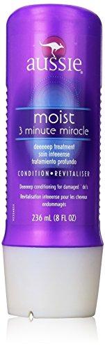 Aussie - Aussie Moist 3 Minute Miracle Deep Treatment, 8 Ounce