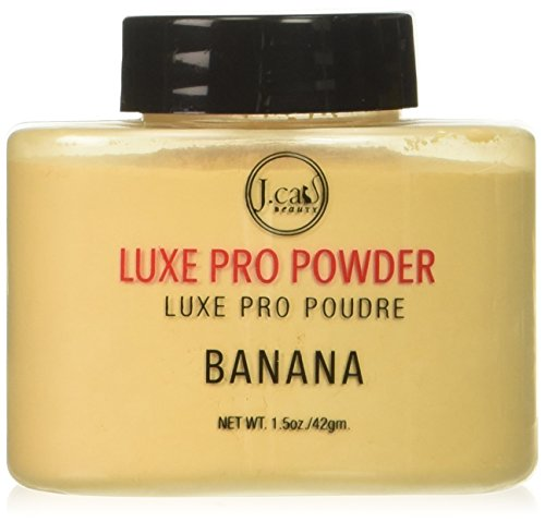 J.Cat Beauty J.Cat Beauty Luxe Pro Powder, 1.5 Ounce - LPP101 Banana