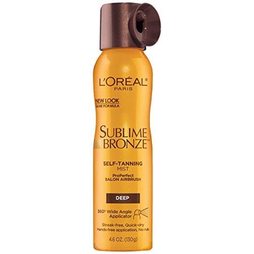 L'Oreal Paris - L'Oreal Paris Sublime Bronze Self-Tanning Mist Deep Natural Tan 4.6 oz.
