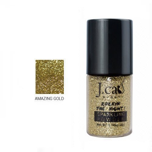 J. Cat - Sparkling Powder, Amazing Gold