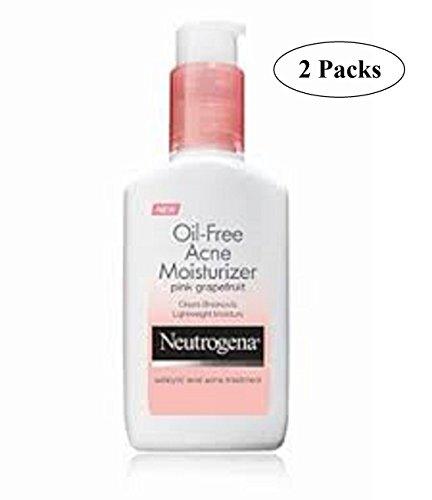 Neutrogena - Oil Free Acne Moisturizer, Pink Grapefruit