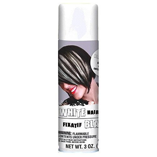 Amscan Amscan Hair Spray, Party Accessory, White