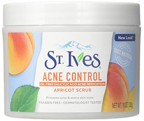 St. Ives - St. Ives Apricot Scrub Blemish Control 10 oz (Pack of 6)