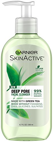 Garnier - SkinActive Face Wash with Green Tea, Oily Skin