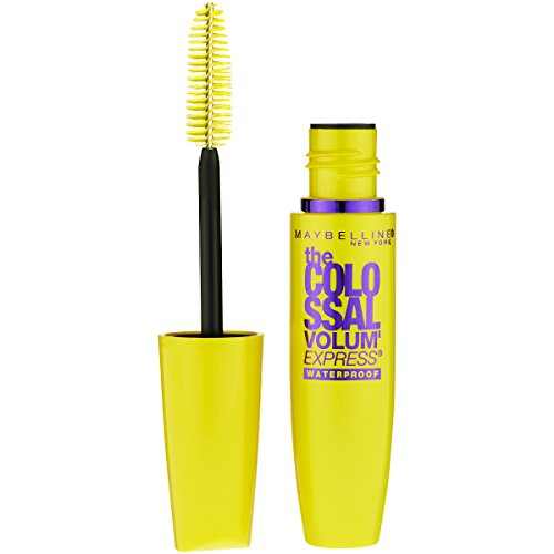 Maybelline New York - Maybelline Makeup Volum' Express The Colossal Waterproof Mascara, Classic Black Mascara, 0.27 fl oz