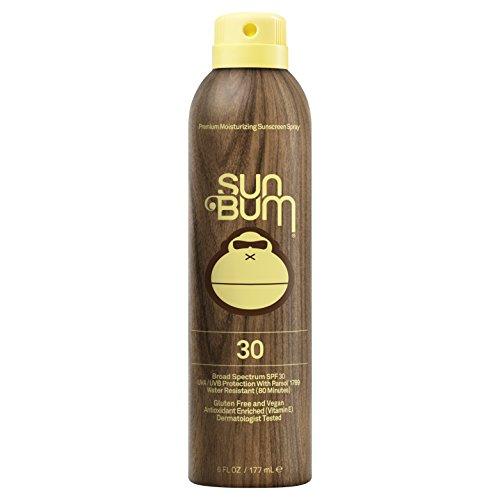 Sun Bum - Sun Bum Original Moisturizing Sunscreen Spray, 6 oz Bottle, 1 Count, Broad Spectrum UVA/UVB Protection, Hypoallergenic, Paraben Free, Gluten Free, Vegan
