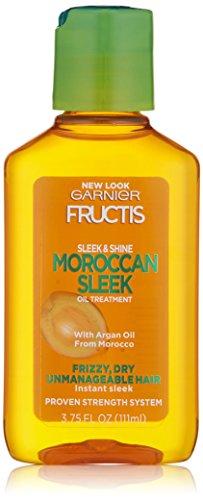 Garnier - Garnier Fructis Sleek & Shine Moroccan Sleek Oil Treatment, Frizzy, Dry Hair, 3.75 fl. oz.