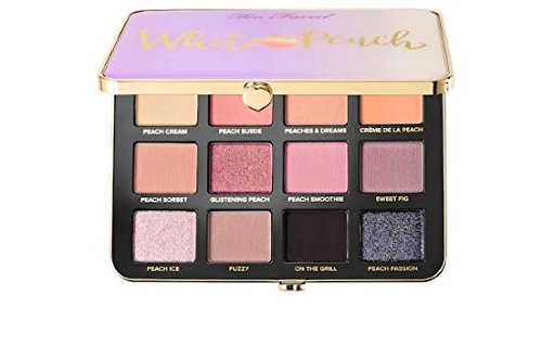 Too Faced - too faced white peach eye shadow palette