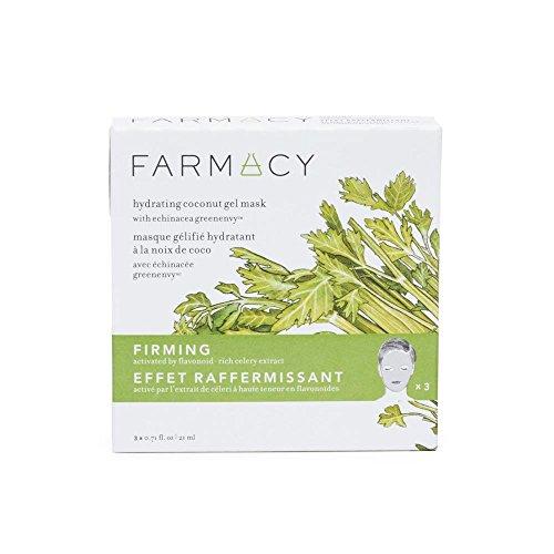 FARMACY - FARMACY Hydrating Coconut Gel Mask - Firming (Celery) - 3 masks