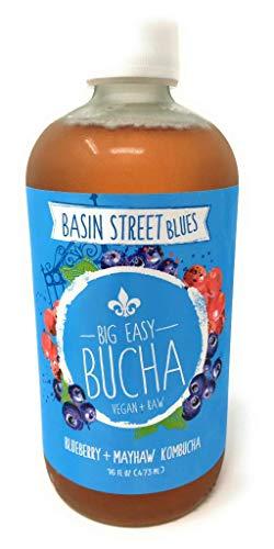 Big Easy Bucha Big Easy Bucha, Kombucha Basin St Blues, 16 Fl Oz