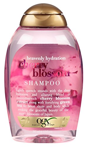 OGX - OGX Heavenly Hydration Cherry Blossom Shampoo 13 Ounce (Pack of 6); Sulfate Free Surfactants Shampoo Volumize Shine and Moisturize With the Grace of a Cherry Blossom For Most Hair Types