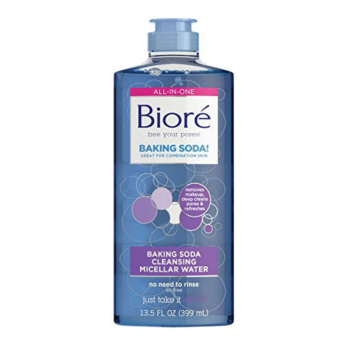 Bioré - Biore Baking Soda Cleansing Micellar Water, 13.5 Ounce