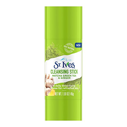 St. Ives - St. Ives Detox Me Daily Cleansing Stick, Matcha Green Tea & Ginger 1.6 oz
